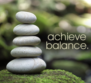 Achieve Balance Photo