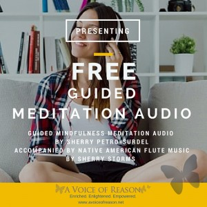 Free Guided Meditation Audio-Graphic