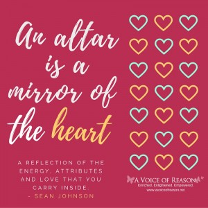 Alter is the mirror of your heart
