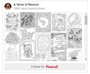 A Voice Of Reason Pinterest-Free Coloring Sheets