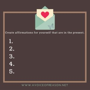 create affirmation cards