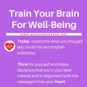 Train Your Brain For Well-Being-messages from heart