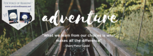 What we learn from our choices is what makes all the difference
