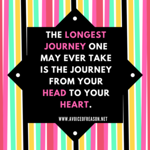 Longest journey from head to heart