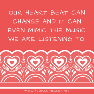 heart beat can change